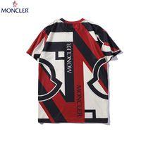 marka nakışı toptan satış-Moda Tasarımcısı Erkekler Yaz T Gömlek Nakış Harfler Baskı Lüks Kısa Kollu Dersigner Casual Tees Gevşek Üst Marka Boyutu S-2XL