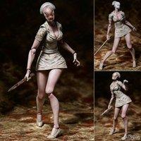 figuras de espuma venda por atacado-Silent Hill: Revelação 3D SP-061 Silencioso Cume 2 Sem Rosto Enfermeira Foaming Cabeça Enfermeira Toy Figuras de Ação Figuras Colecionáveis Quente