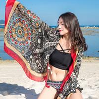ingrosso grande pashmina-Scialli della sciarpa della spiaggia del progettista di lusso / involucro dello scialle della spiaggia per le donne / estate di grande formato di estate di modo delle signore di grande formato per il commercio all'ingrosso