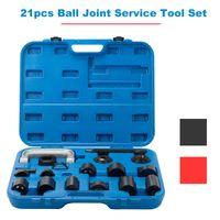 herramientas auto c al por mayor-caja de herramientas 21pc C-PRESS Master Ball Juego de articulación SERVICIO SET REMOVER INSTALADOR 2 / caja de herramientas AUTO 4WD con revestimiento de herramientas caja de herramientas