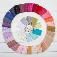 Wholesale row set resale online - Bra Rows Hooks Long Extender Strapless Underwear Strap Adjustable Hook Clip Belt Buckle Cosmetic Tools set RRA1085