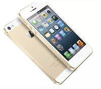 téléphones cellulaires gsm dual core achat en gros de-Téléphone portable déverrouillé GSM WCDMA LTE IOS d'origine Apple Iphone 5S 16GB A7 Dual Core 8MP