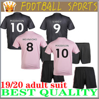 Wholesale gray football jersey resale online - adult kit Leicester soccer jersey City VARDY IHEANACHO MADDISON GRAY MORGAN MAGUIRE home away Adult football shirts