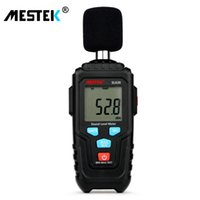 metro decibelios al por mayor-Mestek Decibel Meter Medidor de nivel de audio 30-135db Medición de ruido Medidor de nivel de sonido Detector Herramienta de diagnóstico Sl620 T8190619
