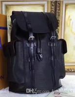 name brand backpack großhandel-Christopher Rucksack Josh Rucksäcke Hochwertige Michael Rucksack EPI Leder Rucksäcke Luxus Designer Rucksack Berühmte Marke Rucksäcke