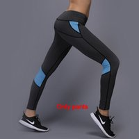 Wholesale yoga pant outfits for sale - Group buy Women Yoga Outfits Ladies Sports Full Leggings Ladies Pants Exercise Fitness Wear Girls Brand Running Leggings