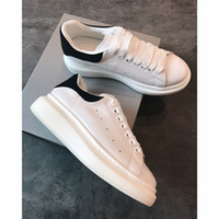 ingrosso scarpe sportive di qualità-With Box alexander mcqueens  neakers 2018 uomini del progettista di lusso scarpe casual a buon mercato migliore di alta qualità Mens Womens Fashion Sneakers Scarpe da sposa partito