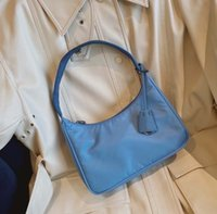 Wholesale waterproof fashion tote resale online - Waterproof canvas Hobo for women Shoulder Bag for women fashion shoulder bag Tote handbags presbyopic purse lady messenger bag