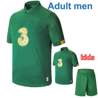 Wholesale ireland football jersey for sale - Group buy 2020 Ireland European Cup home soccer jersey Republic of Ireland National Team Thailand Quality MULLER CLARK man and kids kit Football shirt