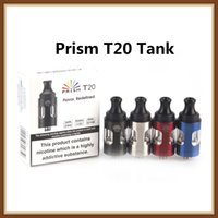 Wholesale stainless steel fittings resale online - Authentic Innokin Endura Prism T20 Tank ml Top Filling Stainless Steel and Pyrex Glass Atomizer Fit Innokin Endura T20 Vaping Kit Free DHL