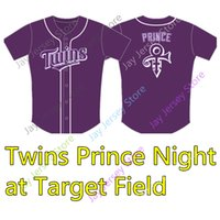 Wholesale prince s for sale - Group buy Twins Prince Jersey Minnesota Night at Target Field Purple Jerseys Adult Men Women Youth Kid Size S XL