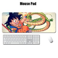 computer-maus-pad handgelenk-rest großhandel-Dragon Ball Cartoon Mauspad Anti-Rutsch-Gaming Mousepad Handgelenkauflage Pad Unterstützung für Office Gaming Computer Laptop Durable