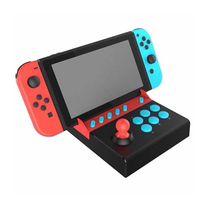joystick kampfspiele großhandel-Plug and Play Kampf Wippe Für NS Nintendo Switch Arcade Joystick PG-9136 Kampf Wippe Stick Game Controller