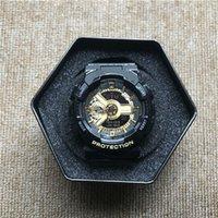relógio de fita venda por atacado-GA110 venda quente G relógio dos homens dos esportes LED relógio do bebê tempo do mundo à prova d 'água e à prova de choque fita frete grátis