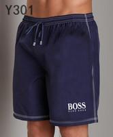 yaz modası mayo toptan satış-Toptan Yaz Moda Şort Yeni tasarımcılar Kurulu kısa Hızlı Kuruyan SwimWear Baskı Kurulu Plaj Pantolon Erkekler Erkek Swim Şort