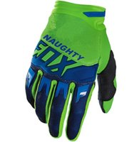 перчатки мотоцикла mx оптовых-NAUGHTY FOX MX ATV Мотокросс Race Gloves Dirtbike Велоспорт Спорт Мотоцикл Мотоцикл 360 DIRTPAW luvas moto Gloves