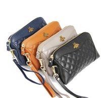 çantalar çantalar çantaları toptan satış-Moda Üst Katman Dana Cüzdan Kabuk Tipi Yumuşak Fermuar Çanta Kadın Tasarımcı Marka Debriyaj Güzel Çanta için Uzun Cüzdan