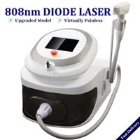 laser-haarentfernungsmaschinen großhandel-2019 Tragbare Diode Laser-Haarentfernung Maschine 808nm Eispunkt Sopran Lazer Diode entfernen Haare dauerhaft Schmerzfrei