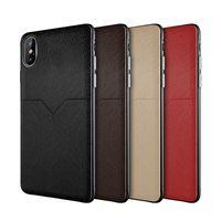 iphone kreditkartenschlitz großhandel-Luxuxdesigner-Telefon-Kasten für iphone XR XS MAX X 7 8 plus Handy-Kasten-Kreditkarte-Schlitz-Tasche Samsungs S10e Plus