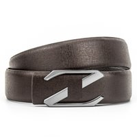 cinturones de hombre carta real al por mayor-Classic Men Designer Brand Z Letter Genuine Top Layer Leather Belt Business Golf Male Real Genuine Leather Belt Strap Wholesale