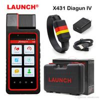 lançamento x431 iv venda por atacado-New Chegou Lançamento Original X431 Diagun IV poderosa ferramenta Diagnotist X431 Diagun IV Código Scanner com atualização on-line de 2 anos grátis