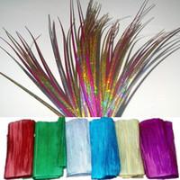 accessoires d'herbe achat en gros de-Bricolage Noël et Halloween Matériaux de décoration PVC Laser Oignon Herbe Artificielle Plante Accessoires de décoration Faux Herbe Scène Props