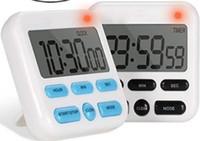 24 stunden elektronisch großhandel-Elektronische digitale Zeitschaltuhr Küchenerinnerungselektronik 12/24-Stunden-Digitaluhr