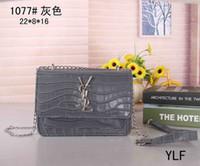 Wholesale snake body chain resale online - 2019new designer bag snake leather embossed fashion ladies bag chain Messenger bag brand designer Messenger bag023
