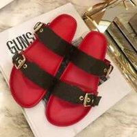 breite schuhe großhandel-Top Männer Frauen Sandalen mit Staubbeutel Designer Schuhe Schlangendruck Luxus Slide Sommer Mode Breite Flache Sandalen Slipper 12