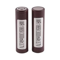Wholesale lithium battery 3.6v resale online - 18650 HG2 mAh Capacity Max A Batteries Rechargable Lithium Battery HE2 HE4 Battery Free Ship Fedex