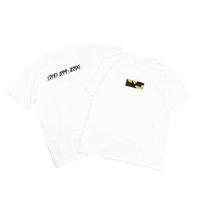 caixas de camisa grátis venda por atacado-venda imperdível! 18ss Brooklyn Camo Box Logo Tee TOP UNHS algodão t-shirt brand new frete grátis AS002