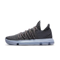 Wholesale orange black kd shoes online - Hot KD EP basketball shoes for Top quality mens shoes s Rainbow Wolf Grey Blue Red Green KD10 basketball sneakers