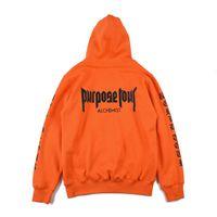 Wholesale hip hop for sale - Brand New Fear Of God Hoodie Hip Hop Street Sport Mens Designer Hoodies Purpose Tour Pullover Sweatshirt