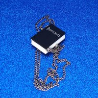bijoux de mort achat en gros de-Black Death Note pocket Watch Nouveau Designer Note Book Fob Watch bijoux de mode cadeau Drop ship 230146