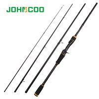 Wholesale 25g lures for sale - Group buy JOHNCOO m m m g Carbon Fiber Rod Fast Action Spinning Fishing Rod Casting Travel Rod Sections Sensitive Lure