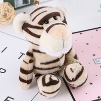 Wholesale Cute Animals Keychain Toys Plush Animals Plush Toys Stuffed Animal Small Multiple Color Pendant Dolls Gift new