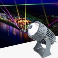 lente de vidro led venda por atacado-110v 220v Modern LED impermeável Spotlight 10w Outdoor Lens RGB vidro Wall Washer Luz para Decoração do casamento Rua
