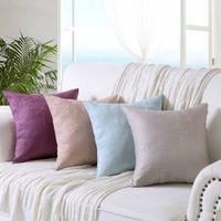 escritório de sofá venda por atacado-Home Office Confortável Almofada Bar Cadeira Cadeira de Volta Sentado Sofá de cor sólida Almofadas