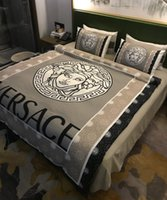 Wholesale green brown bedding sets resale online - 2019 Hot Sale Bedding Sets cm King Queen Size Bedding Sets Bed Sheets Comforter Luxury Bed Comforters Sets