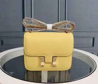 orange schwarze designerhandtasche großhandel-Klassische Frau Flap Designer Alligator Handtaschen Strap Umhängetaschen Real Leahter Hochwertige Handtaschen Umhängetasche Mini Black Purse Tote 19