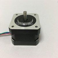 3d cnc makinesi toptan satış-Bygh Elektrikli 42mm Step Motor NEMA 17 Adım Açısı 1.8 3D Yazıcı CNC makineleri için