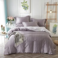 Wholesale baroque bedding for sale - Group buy Polka Dot Mandala Baroque Floral Printed Bedding Set Queen King Size Quilt Cover Bed Sheets Pillowcase Summer Tencel Textiles