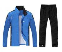 jaqueta do homem dentro venda por atacado-homens gola jaqueta dentro de malha calças sportswear outono e primavera jogging designer sports suit 19-18052