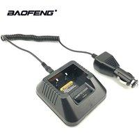 ingrosso caricabatterie per baofeng-Caricabatteria Baofeng UV5R USB da auto per Baofeng UV 5R 5RE F8 + DM-5R Walkie Talkie UV5R Ham Radio DMR radio bidirezionale Accessori