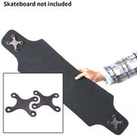 aluminiumdichtungen großhandel-2 Stücke Pads Anti Sinking Screw Pads Aluminiumlegierung Schutzdichtungen Longboard Zubehör Mit Loch Deck Teile Skateboard