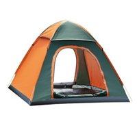 tentes familiales livraison gratuite achat en gros de-Tente de camping en plein air tente de jeu camouflage fieid 3 - 4 tente familiale Le grand espace CTS002