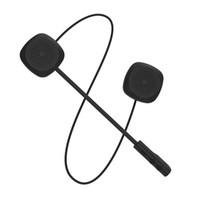 drahtloses bluetooth kopfhörer-motorrad groihandel-MH04 drahtlose Bluetooth-Kopfhörer HIFI BT 5.0 + EDR Motorrad-Sturzhelm-Kopfhörer Stereo-Lautsprecher-freihändige Kopfhörer-Mikrofon Sicheres Fahren Earbuds