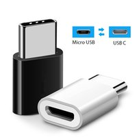 Wholesale usb converter samsung online – USB Adapter USB C To Micro USB OTG Cable Type C Converter For Samsung Galaxy S10 S9 S8 Huawei Pro OTG Adapter