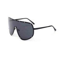 ingrosso occhiali a colori del cranio-occhiali da sole oversize occhiali da sole donna occhiali da sole siamesi oversize cranio moda personalità parabrezza retro vetri pellicola riflettente