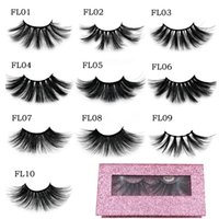 Wholesale beautiful lashes for sale - Group buy High Quality The most popular Handmade25MM Mink eyelashes makeup mink lashes Soft natural thick false eyelashes With beautiful box
